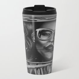 Graffiti Metal Travel Mug