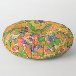 Lily Pad Tie Floor Pillow