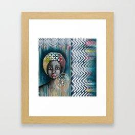 mother africa Framed Art Print