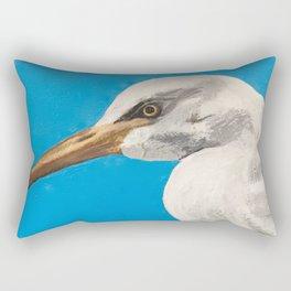 Cattle Egret Rectangular Pillow