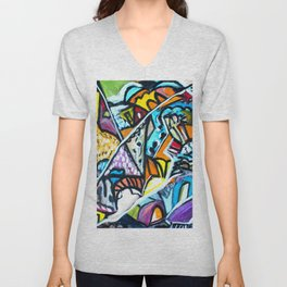 Shirakawago 白川村 #society6 #decor #buyart Unisex V-Neck