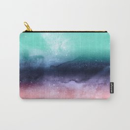 Modern watercolor abstract paint Carry-All Pouch