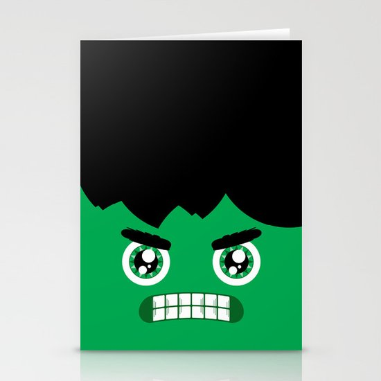 Adorable Hulk Stationery Cards
