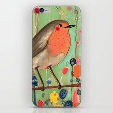 je ne suis pas qu'un oiseau revisited iPhone & iPod Skin