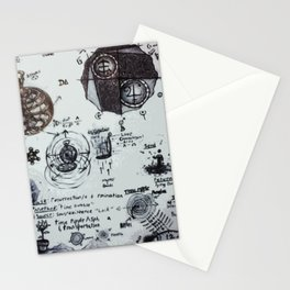 Time Travel Troubleshooting Stationery Cards