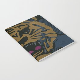 Golden Tiger Notebook