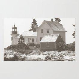 Lighthouse photography art Rug