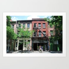 Summer on the Lower East Side Art Print