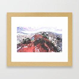 monster jammed. Framed Art Print