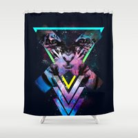 code Shower Curtains featuring CODE X by alfboc