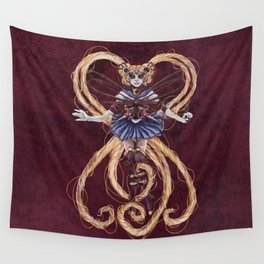 Steampunk Sailormoon Wall Tapestry