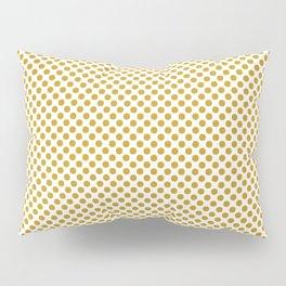 Nugget Gold Polka Dots Pillow Sham