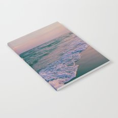 Sunset Crashing Waves Notebook