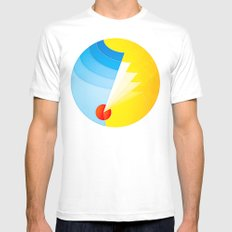 Another Place White Mens Fitted Tee MEDIUM
