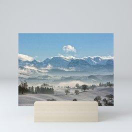 Switzerland, Neuheim Mini Art Print
