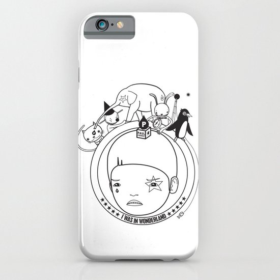 I WAS IN WONDERLAND iPhone & iPod Case
