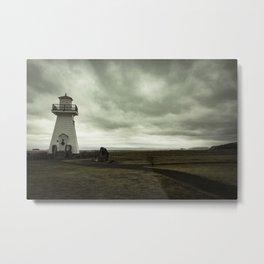 Solitary Lighthouse Metal Print