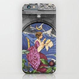 THE HIGH PRIESTESS TAROT CARD iPhone Case
