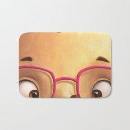 Ella the Hedgehog close-up Bath Mat