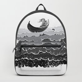 Death At Sea Backpack