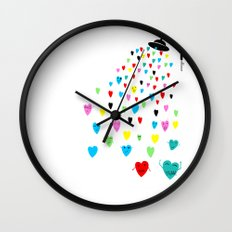 Love shower Wall Clock