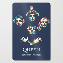 Queen Band Cutting Board