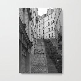 Climbing Paris Metal Print