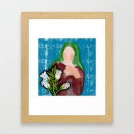 The Canterbury Bells Framed Art Print
