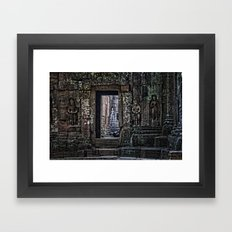 Ta Phrom Framed Art Print
