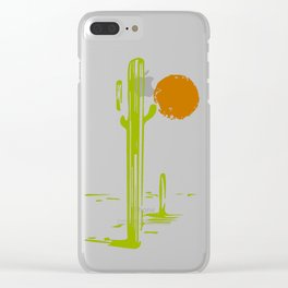 Mezcal Adventure Clear iPhone Case
