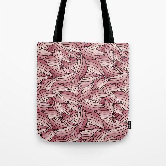 PALE DOGWOOD LEAVES B (abstract flowers nature) Tote Bag