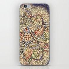 Gold Morocco Lace Mandala iPhone & iPod Skin
