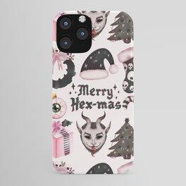 Merry-HexMas iPhone Case