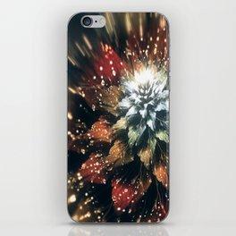 3D Color Flower V3 iPhone Skin