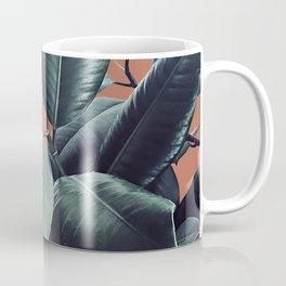 Ficus Elastica #17 #AutumnLeaf #foliage #decor #art #society6 Coffee Mug