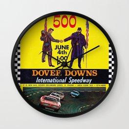 International Speedway Wall Clock