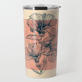 Hibiscus Colors Travel Mug