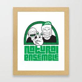 Monkey Bussiness Framed Art Print