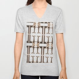 """Sew It's Quirky"" by Murray Bolesta Unisex V-Neck"