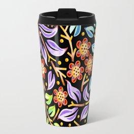 Filigree Flora Travel Mug