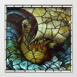 "Edward Burne-Jones ""Viking Ship"" Canvas Print"