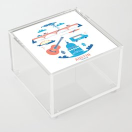 Love Letter to Austin, Texas Acrylic Box