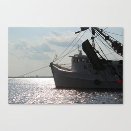 Shrimp Boat Canvas Print