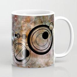 Doctor Who Allons-y Gallifrey with the Carina Nebula Coffee Mug