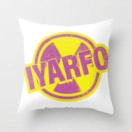 IYARFO Magenta Throw Pillow