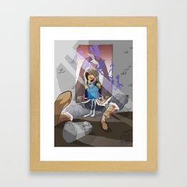 Do you Remmeber when a Amon was cool? Framed Art Print