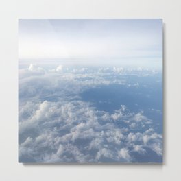 Above Clouds   Landscape Photography   Sky   Travel Metal Print