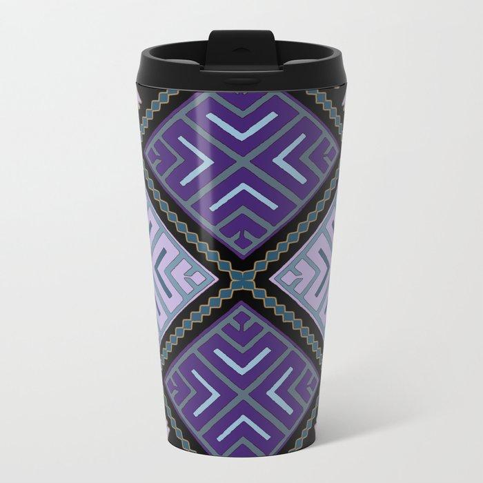 Pattern 025 Metal Travel Mug