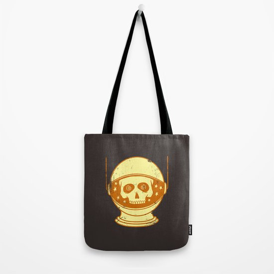 Intergalactic Cotton Buds Tote Bag