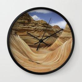 The Wave #3 - Arizona Wall Clock